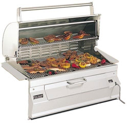 Fire Magic Charcoal Built-In Grills (w/Smoker Oven/Hood) Free