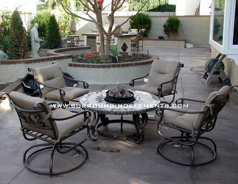Firepits by Surrounding Elements - Backyard Patio Furniture, Outdoor  Furniture, Custom Mosaic Tables, Firepits, Chairs - Firepits By Surrounding Elements - Backyard Patio Furniture, Outdoor