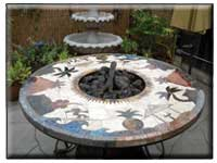 Custom Mosaic Tables